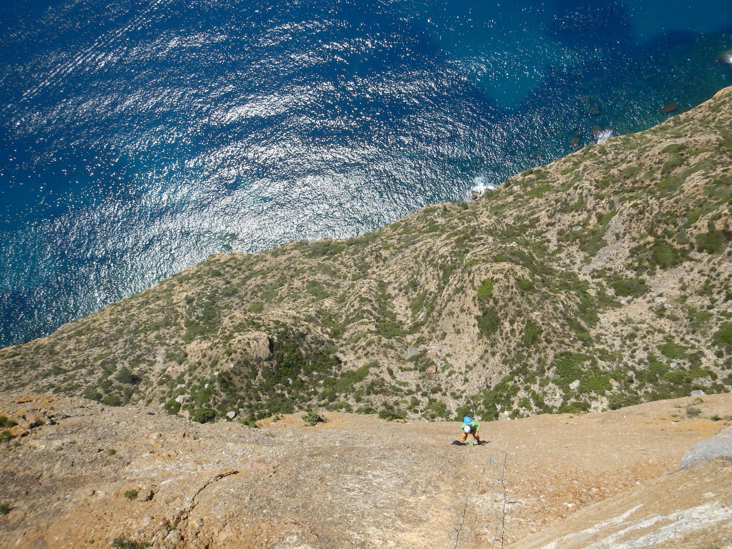 Grande voie Cap Canaille, Marseille