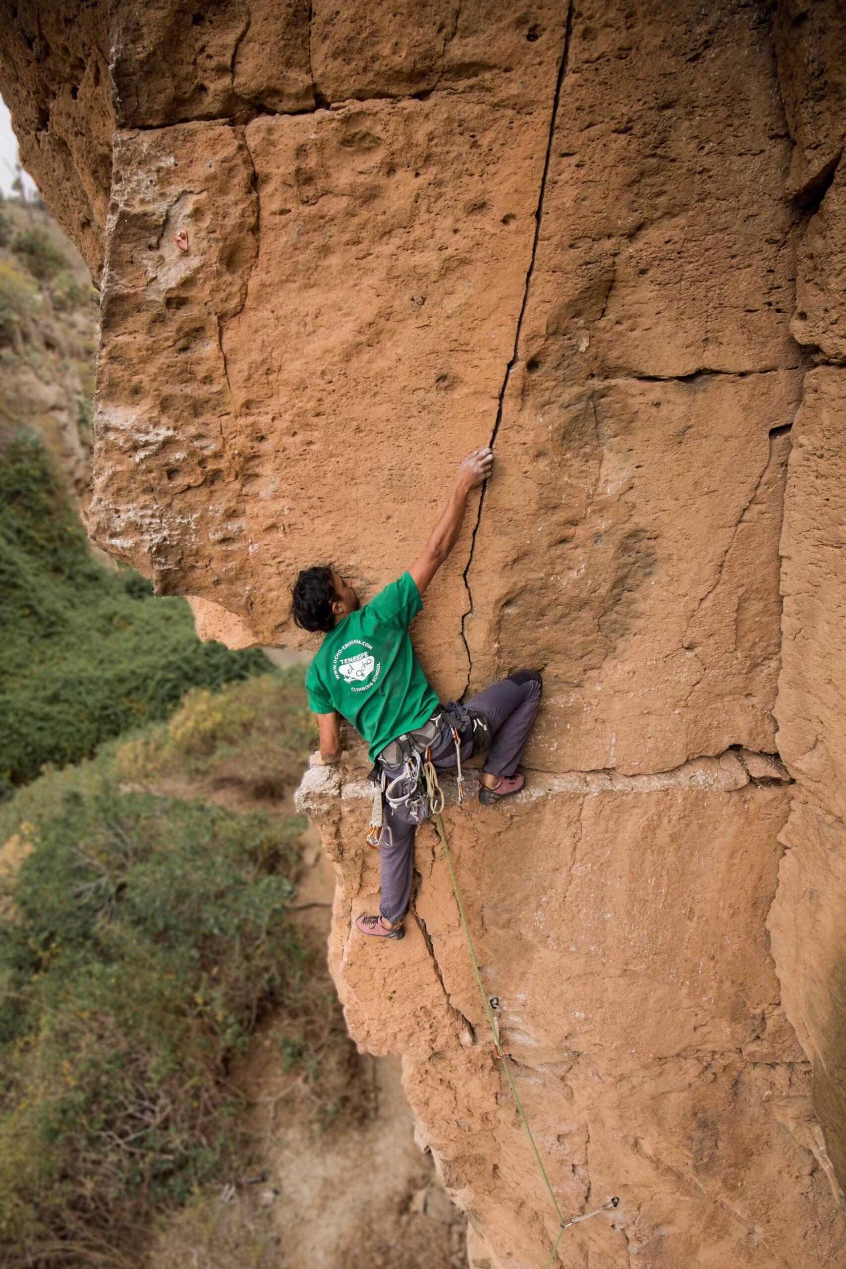 climbing Coach tenerife