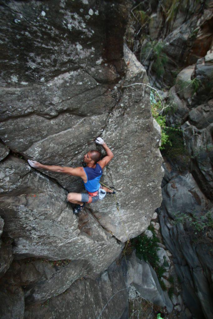 Climbing course tenerife coaching