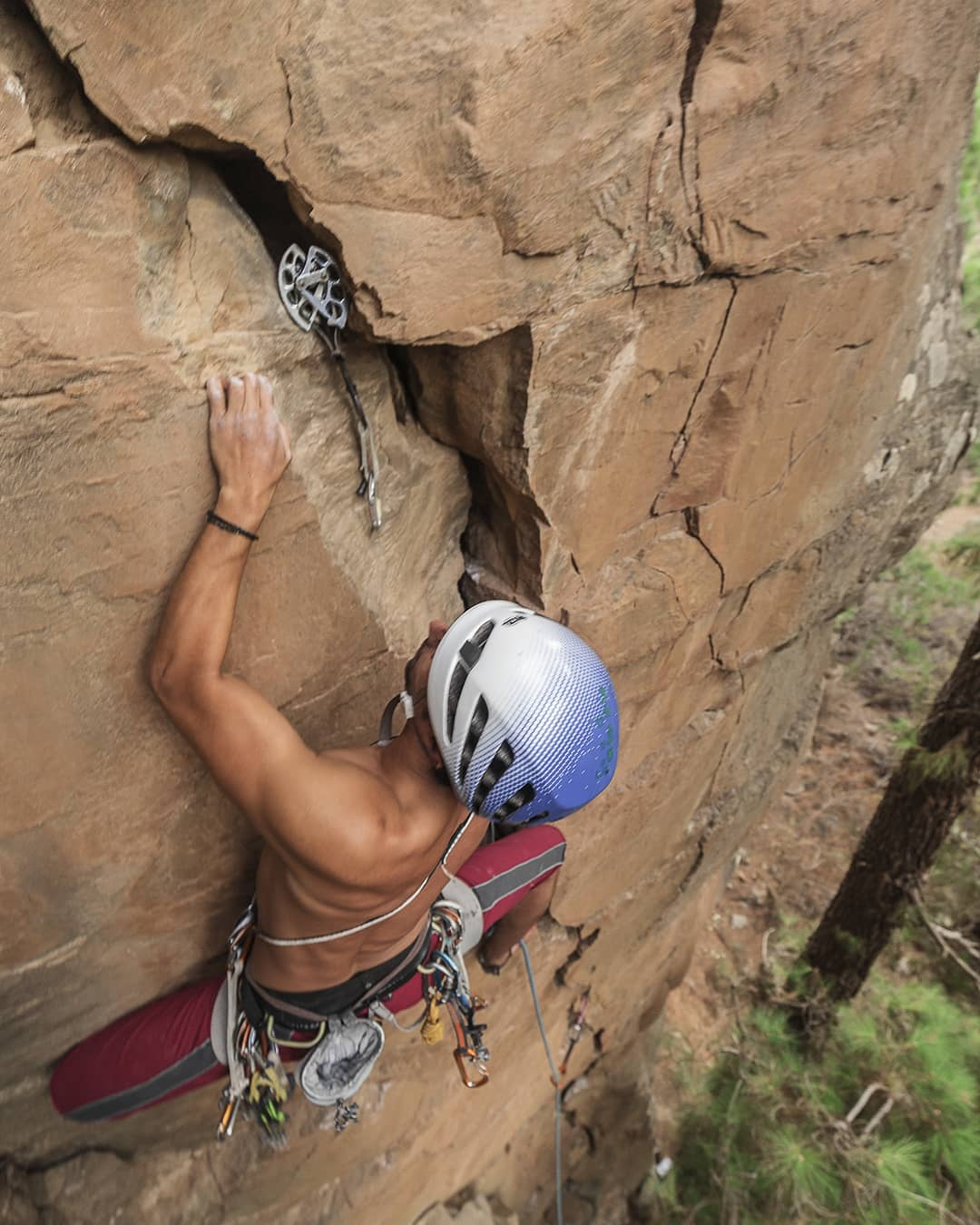 camalot 4 crack climbing tenerife